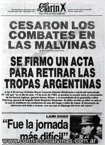 Argentina se rinde