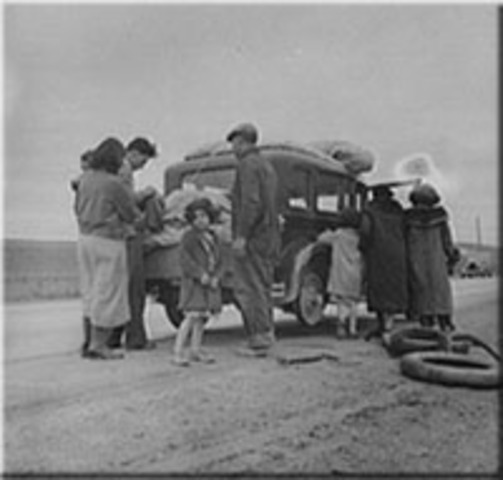 The Great Depression caused repatriation for Mexicans and Mexican Americans