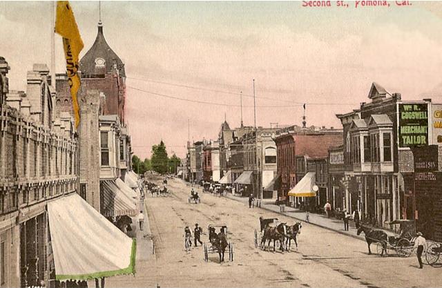 Pomona Now a City