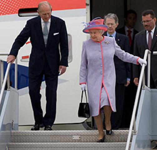 La reina se dirige ante una sesión conjunta del Congreso de Estados Unidos
