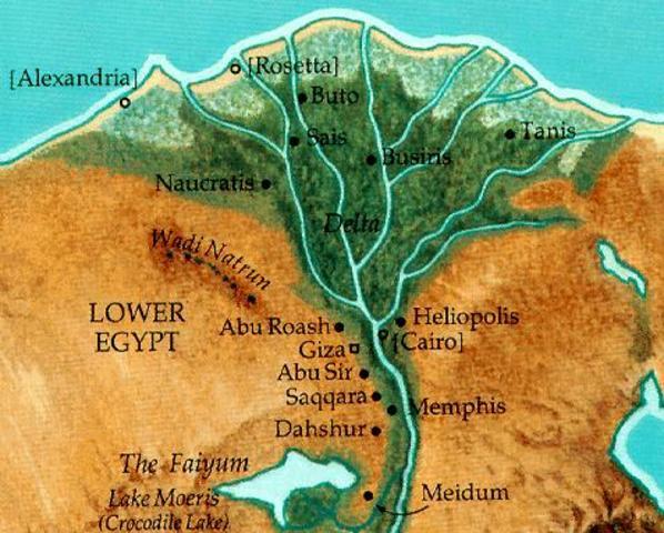 Egypte landbouwsamenleving.
