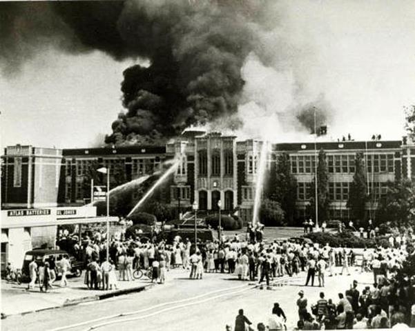 Pomona High School Fire