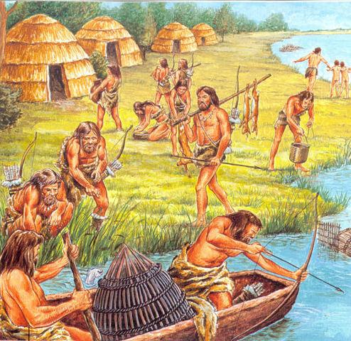 het ontstaan van de landbouw