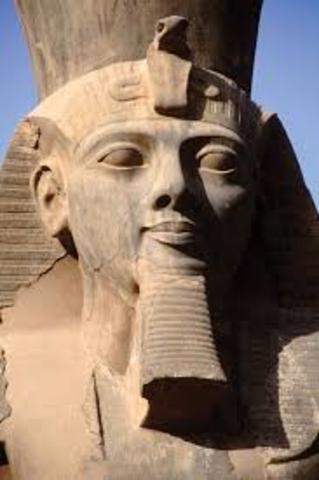 Start regering Ramses II