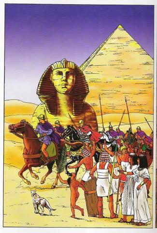 Perzen veroveren Egypte
