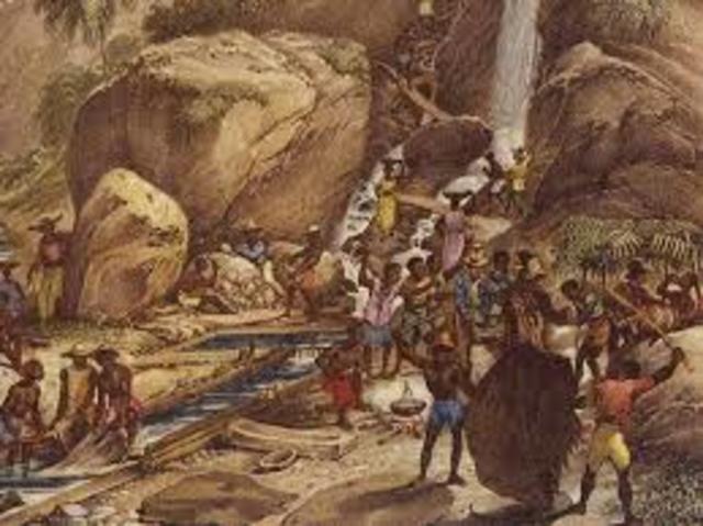 Mineração no Brasil (Origem)