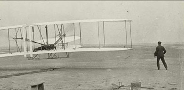 The invention of the first aero plane