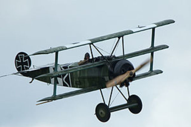 World War One fighter and bomber aircraft