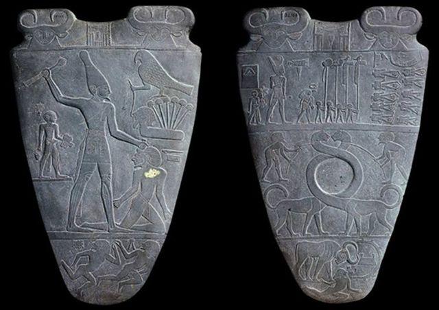 Het palet van Narmer.