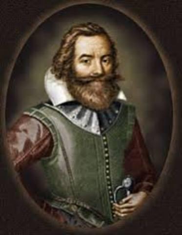 Captain John Smith of Virginia visited Susquehanna Indians