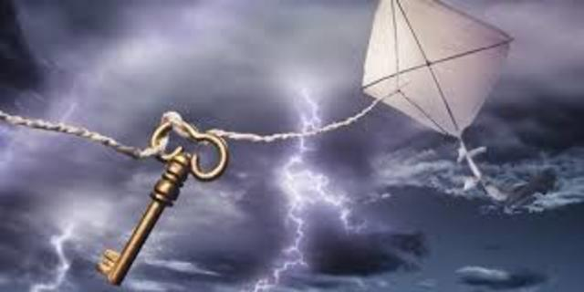 Benjamin Franklin used kite to establish that lightning is a form of electricity