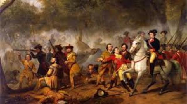 French and Indian War began; George Washington claimed first victory at Laurel Mountain; Lenape Indians attacked Gnadenhutten Mission, killed 11 white people