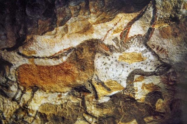 de grot van Lascaux.