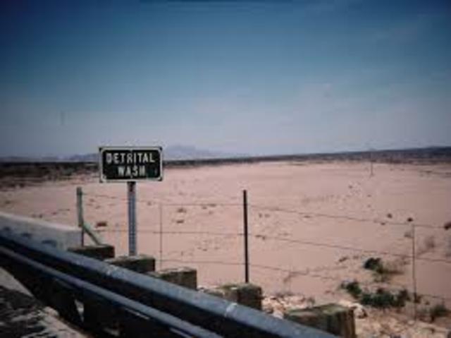 Nevada. Lake Mead/Detrital Wash. (Event #5)