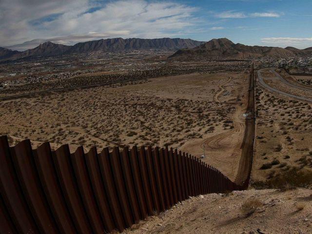 Chris at the U.S. Border