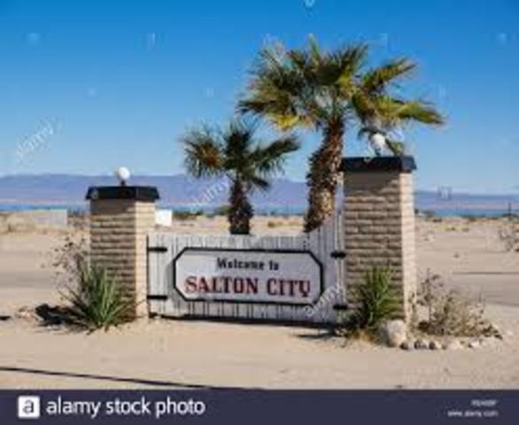 Salton City, California. (Event #9)