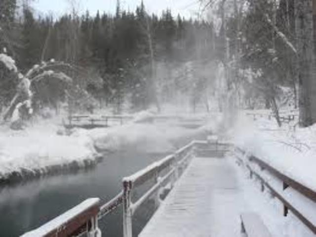 Liard River Hot Springs, Yukon Territory. (Event #12)