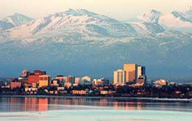 Anchorage, Alaska. (Event #14)