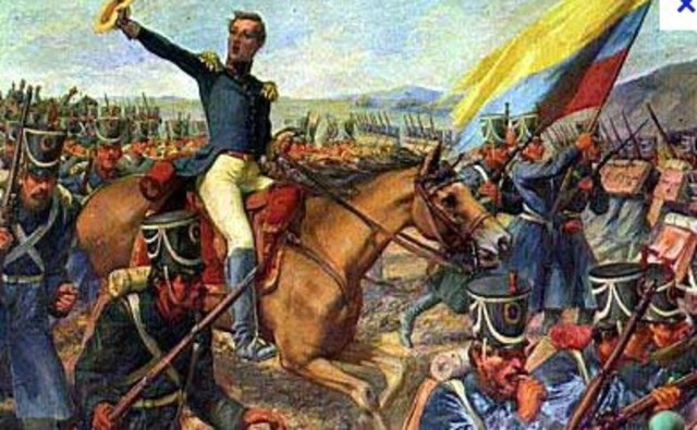 ¿Por que en la Gran Colombia las solución a los problemas era mediante la guerra?