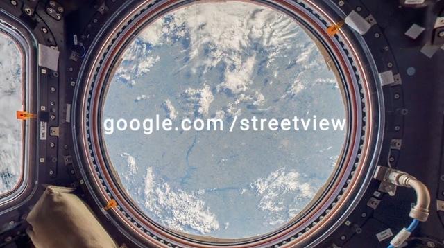 Google Street View llega al espacio
