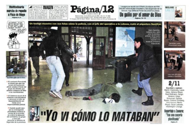Asesinato de Kosteki y Santillan
