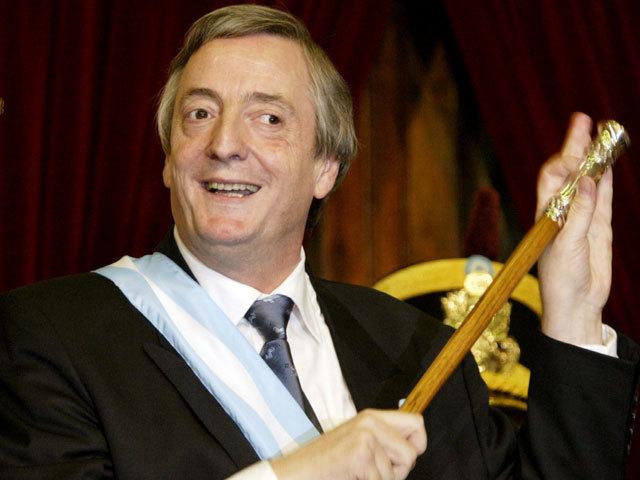 Asunción de Kirchner a la presidencia