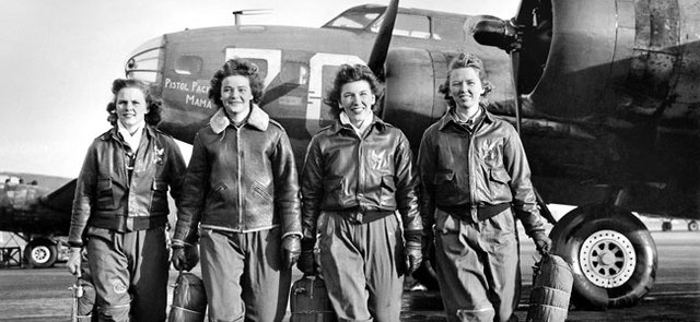The group of girls to fly a plane