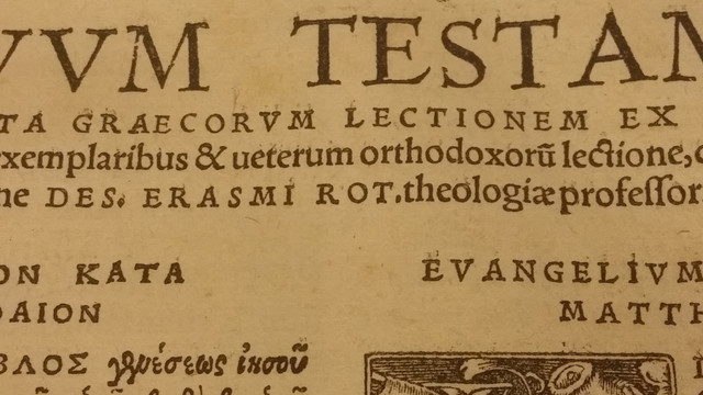 Traduccion a latin del Nuevo testamento