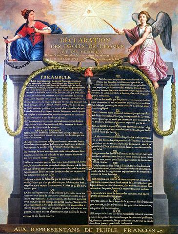 Declaración de los Derechos del Hombre y del Ciudadano (Francia)