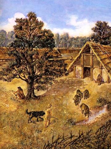 Eerste boeren in Nederland
