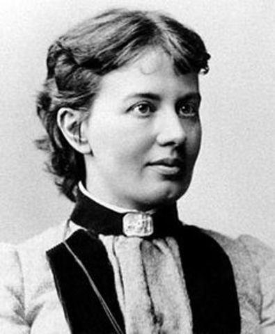 Со́фья Васи́льевна Ковале́вская  1850 -1891