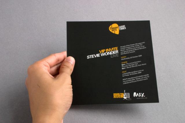 Invitation design completed