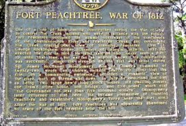 Peach tree war