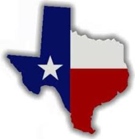 Texas Gains it's Independence
