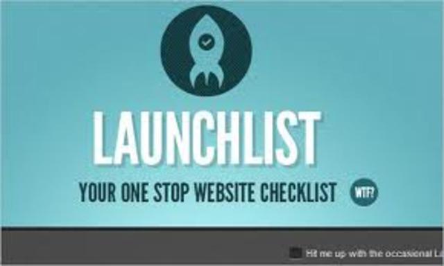 Website pre-launch