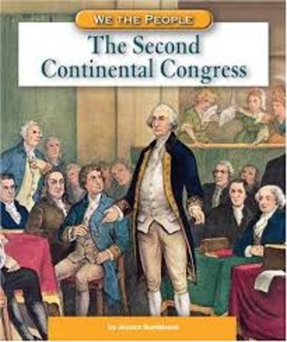 A committee of the Second Continental Congress