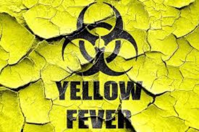 Yellow fever epidemics in Philadelphia killed about 2,000