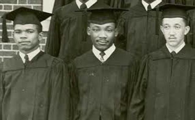 Graduates from Morehouse