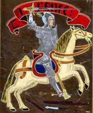 Naixement de Joanot Martorell (1405-1468)