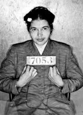 Rosa Parks is Arrested/ Montgomery Bus Boycott