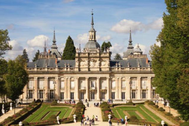 The Royal Palace of La Granja de San Ildefonso. (international date)