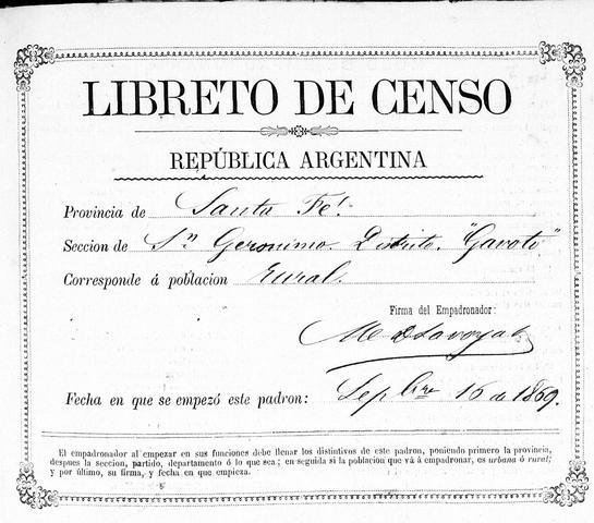Sexto censo nacional