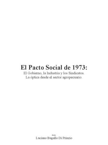 """""""Pacto Social"""""""