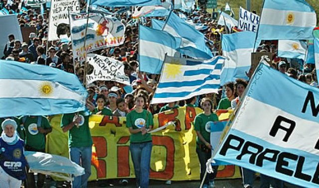 Conflicto con Uruguay