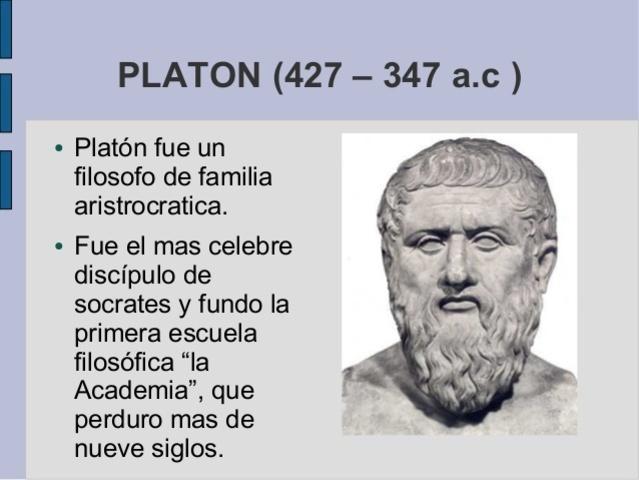 Platón, Idealista