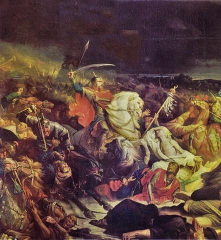 Начало Куликовская битвы