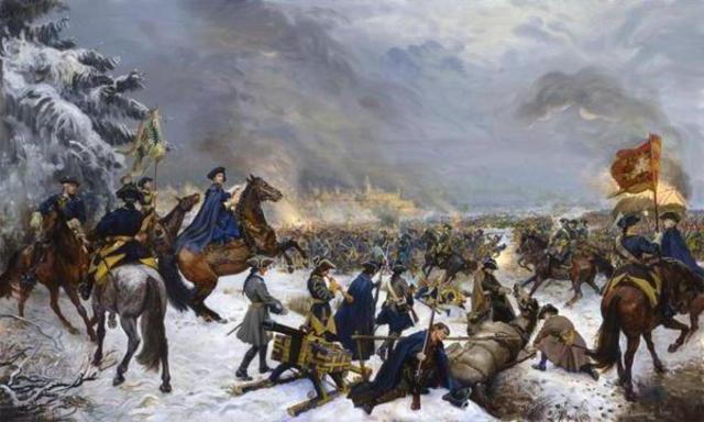 Поражение русских войск под Нарвой