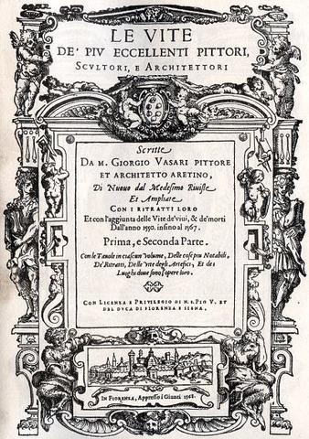 Le Vite von Giorgio Vasari