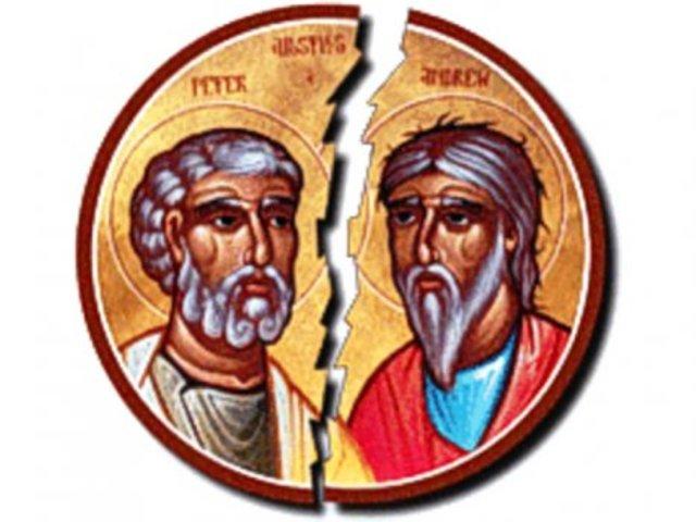 Schisma: Zwei Päpste