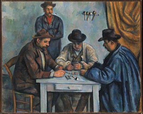 Die Kartenspieler